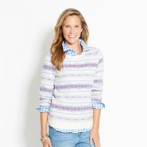Vineyard Vines Snowflake Fair Isle Sweater